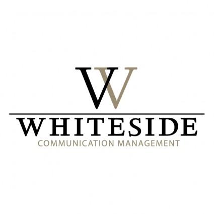 จัดการสื่อสาร Whiteside-โลโก้เวกเตอร์-เวกเตอร์ฟรี ดาวน์โหลดฟรี