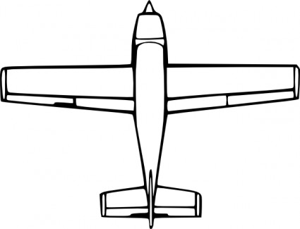 Wirelizard Von Oben Nach Unten Flugzeug Ansicht ClipArt