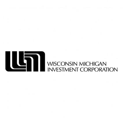 Wisconsin Michigan Investasi-logo Vektor-vektor Gratis