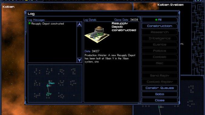 Space Empires IV Deluxe screenshot 2