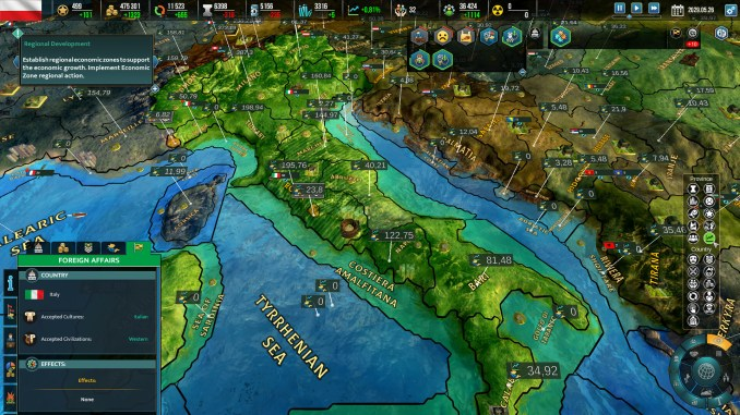 Realpolitiks II screenshot 1