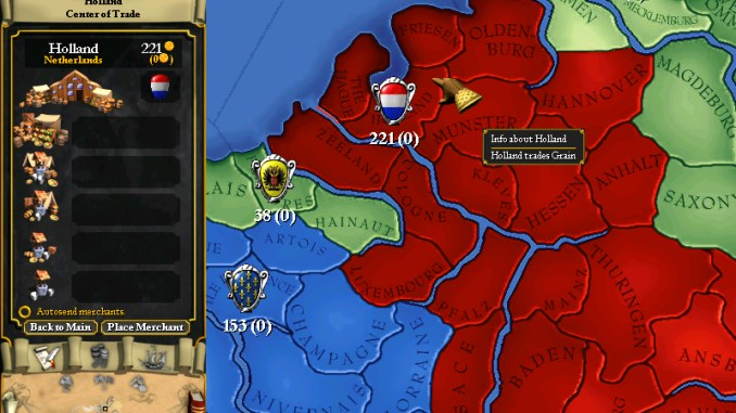 Europa Universalis I screenshot 2