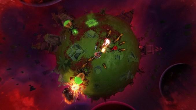 Battle Planet - Judgement Day screenshot 2