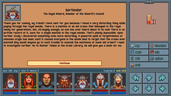 Legends of Amberland: The Forgotten Crown screenshot 3