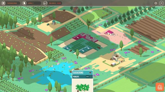 Hundred Days - Winemaking Simulator screenshot 1