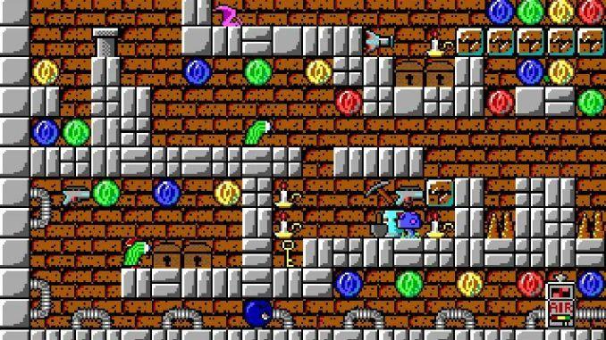 Crystal Caves screenshot 1