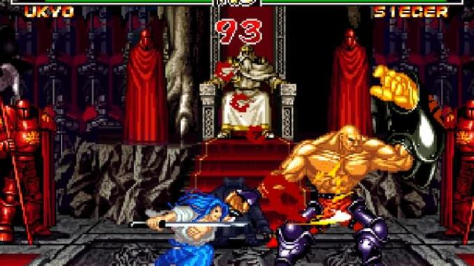 Samurai Shodown II screenshot 3