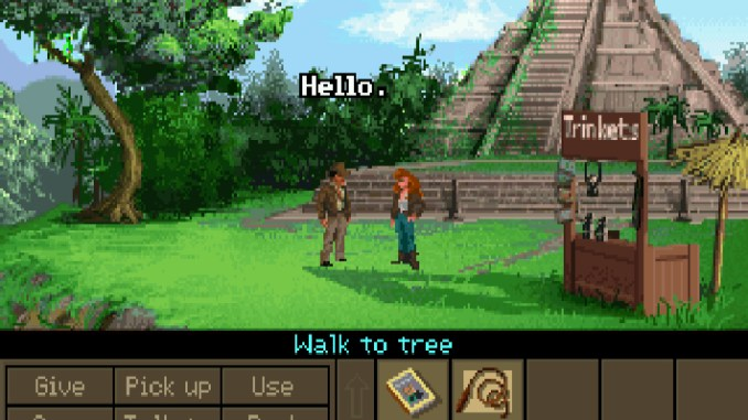 Indiana Jones and the Fate of Atlantis screenshot 2