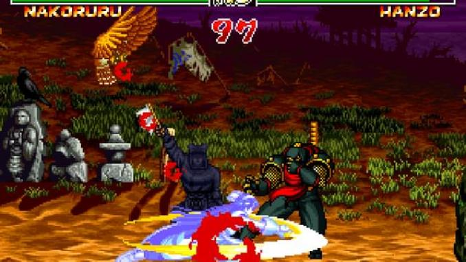 Samurai Shodown II screenshot 1