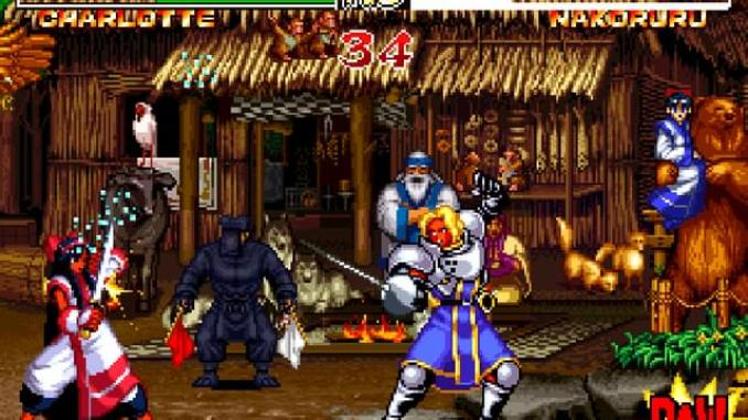 Samurai Shodown II screenshot 2