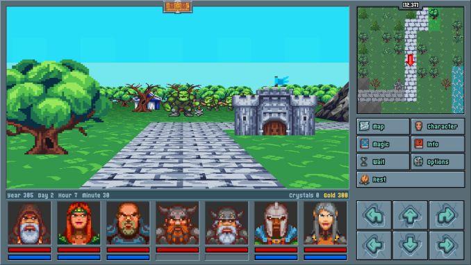 Legends of Amberland: The Forgotten Crown screenshot 1