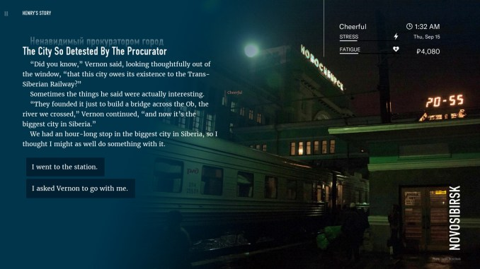 Wanderlust: Transsiberian screenshot 2