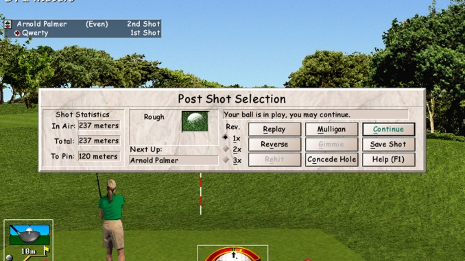 Links LS: 1998 Edition screenshot 2