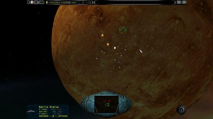 Imperium Galactica II: Alliances screenshot 2