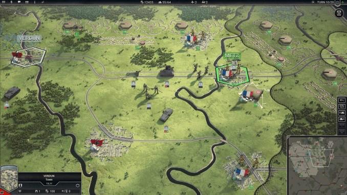 Panzer Corps 2 Field Marshal Edition screenshot 1