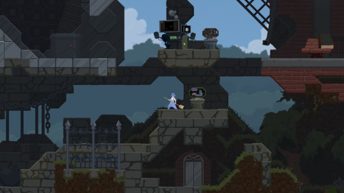 Dustforce DX screenshot 1