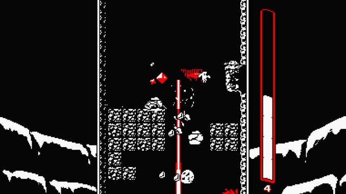 Downwell screenshot 2