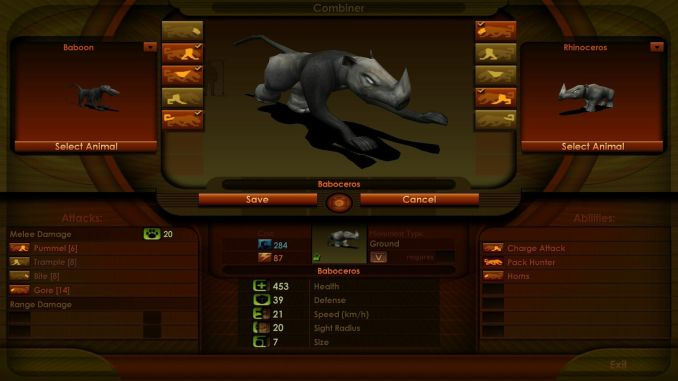 Impossible Creatures screenshot 2