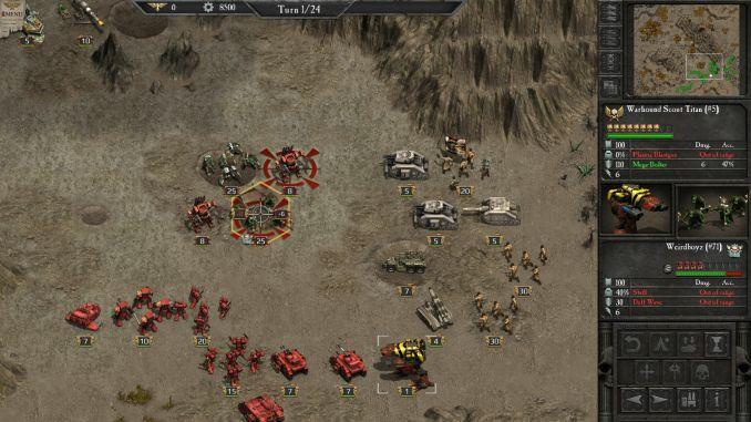 Warhammer 40000: Armageddon screenshot 1