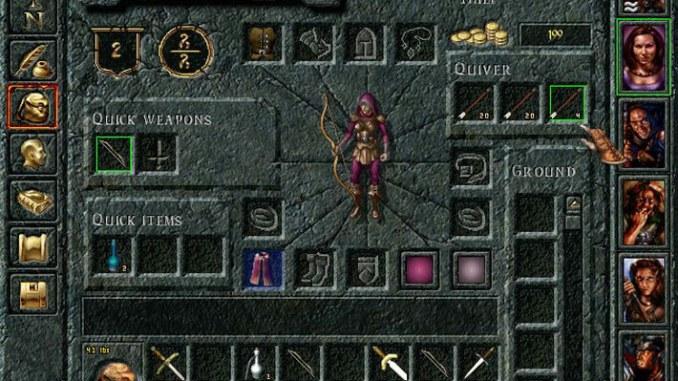 Baldur's Gate: The Original Saga screenshot 3