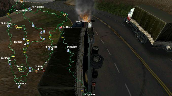 Hard Truck 2: King of the Road screenshot 2