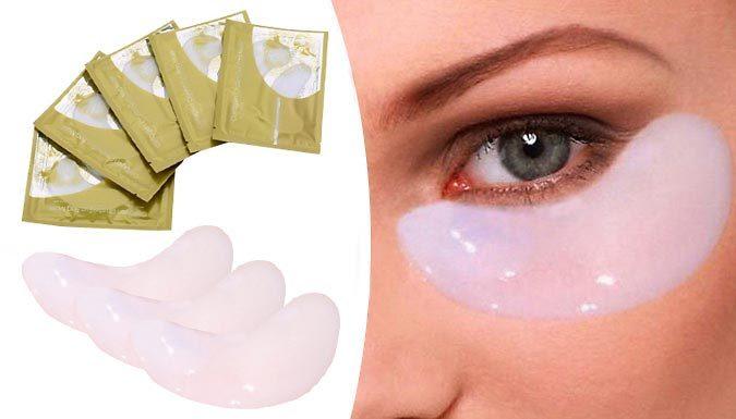40 Hyaluronic Collagen Eye Masks