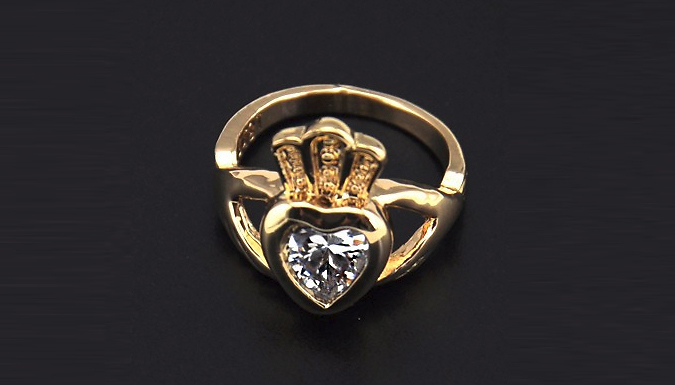 Stylish Claddagh Ring - 2 Colours