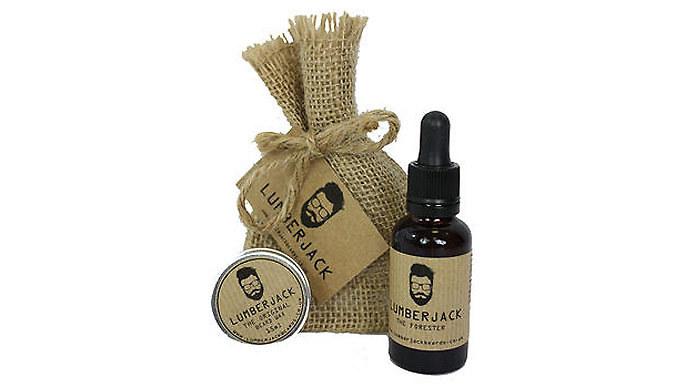 Beard Grooming Gift Set - Oil and Wax