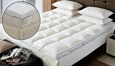 From 19 99 Instead Of 59 For The Microfibre Mattress Topper Grab Forty Winks And Save Up To 67
