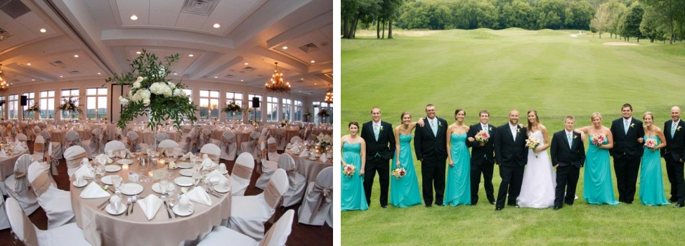 Wisconsin Golf Course Weddings Wisconsin Golf Wedding