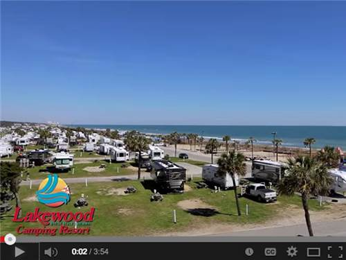 Lakewood Camping Resort  Myrtle Beach SC  RV Parks and Campgrounds in South Carolina  Good