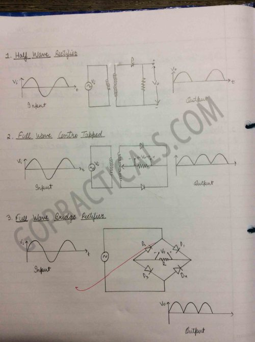 small resolution of diode applications of half wave and full wave rectifier 2
