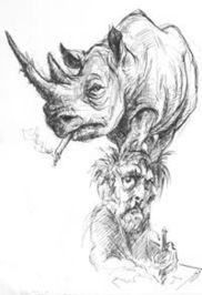 Van Howell (Illustrator of Derrida For Beginners)