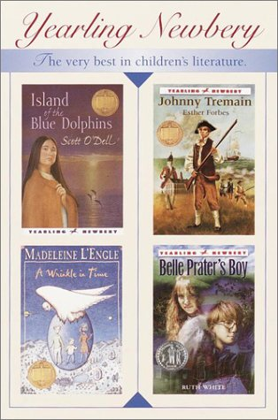 Newbery Boxed Set (Island of the Blue Dolphins, Johnny Tremain, Belle Prater's Boy, Wrinkle in Time, Black Cauldron, Black Pearl, Watson's Go to Birmingham 1963, Lily's Crossing)