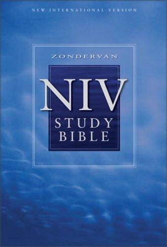 Study Bible: NIV