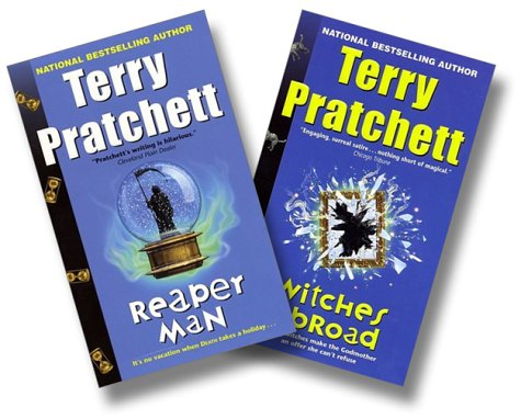 Discworld Two-Book Set:  Witches Abroad and Reaper Man