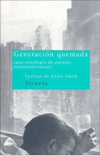 Generación quemada (Una antología de autores norteamericanos)