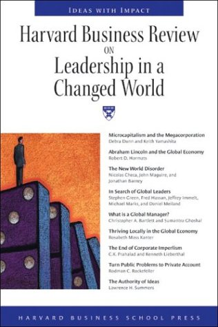 Harvard Business Review on Leadership in a Changed World