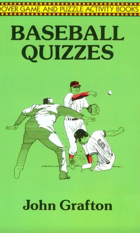 Baseball Quizzes (Dover Game and Puzzle Activity Books) (Dover Game and Puzzle Activity Books)