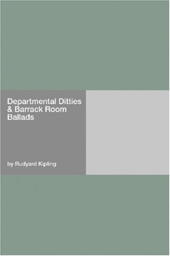 Departmental Ditties & Barrack Room Ballads