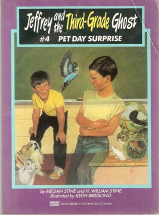 Pet Day Surprise (Jeffrey and the Third Grade Ghost, #4)