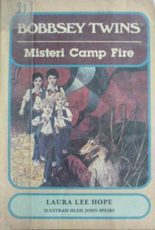 Misteri Camp Fire (Bobbsey Twins, #6)