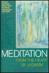 Meditation from the Heart of Judaism: Today's Masters Teach about Their Practice, Discipline and Faith