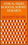 Ethical Issues in Social Science Research