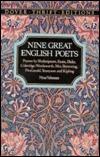 Nine Great English Poets: Poems by Shakespeare, Keats, Blake, Coleridge, Wordsworth, Mrs. Browning, Fitzgerald, Tennyson and Kipling/Boxed Set