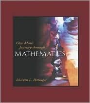 One Man's Journey Through Mathematics