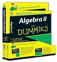 A;gebra II for Dummies W/Algebra II Workbk for Dummies