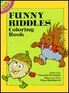 Funny Riddles Coloring Book