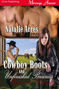 Cowboy Boots and Unfinished Business (Cowboy Boots, #2)