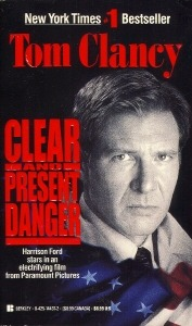 Clear and Present Danger (Jack Ryan, #5)
